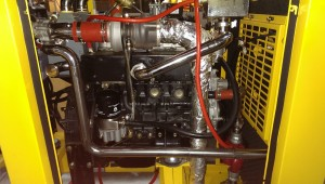 View of turbo charger