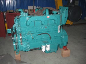 Bare engine from Cummins