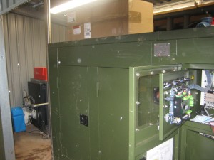 CHP and biogas boiler