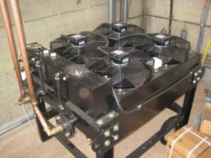 Remote dump radiator